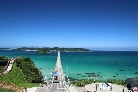 5つ星の宿・大谷山荘ランチと元乃隅神社・角島大橋
