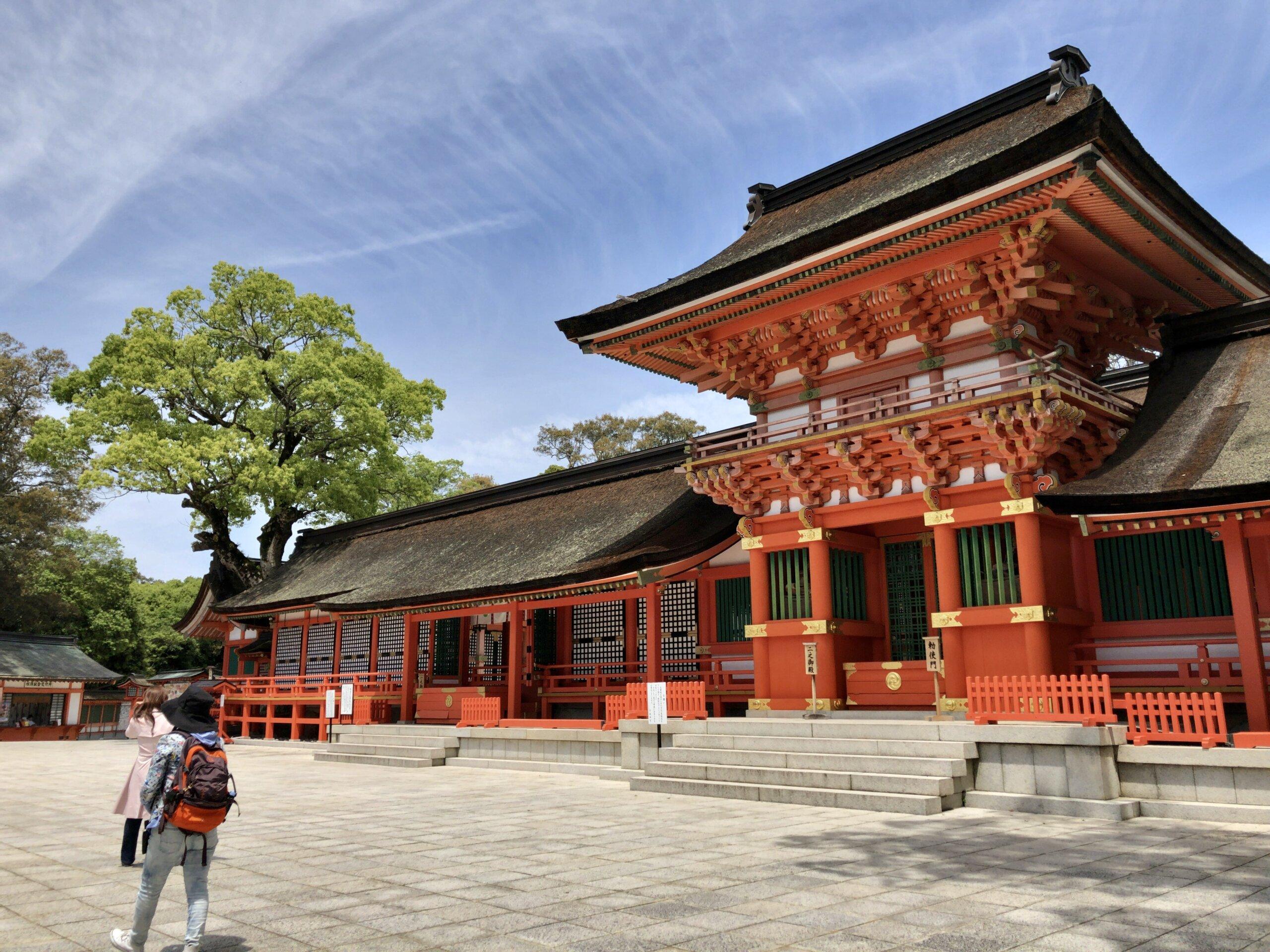 ツアー紹介:【宇佐コース】 薦神社と宇佐神宮へ参拝。お食事は宇佐竹の屋で鰻のひつまぶし♪